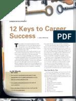 12 Keys to Career Success