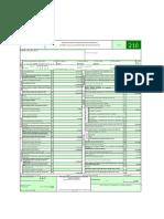 Formulario Declaración De Renta Persona Natural 210 (HOJA 1 EXCEL)  Y PANTALLAZOS (HOJA 2 EXCEL)