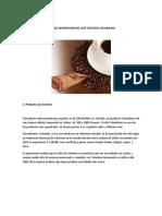 PLAN DE EXPORTACION DE CAFÉ TOSTADO Y