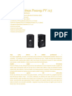Bocinas Peavey PV 115