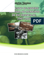Mercado de Madeira Serrada No Municiacutepio de Rio Branco Ac