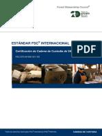 FSC-STD-40-003 V2-1 ES Certificacion de Cadena de Custodia de sitios múl...