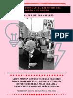Michel Foucault y el ejercicio del saber y el poder (Escuela de Frankfurt). (3)  ACTI 3