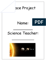 space learner booklet