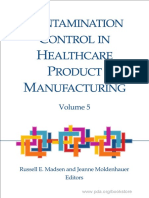 Contamination Control in Healthcare Product Manufacturing Volume 5 - Contenido