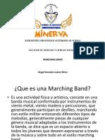 presentaciones marching band
