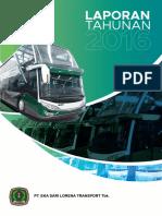 PT Eka Sari Lorena Transport Tbk - Annual Report 2016