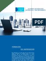 Brochure Capacitaciones STGO EMPRENDE