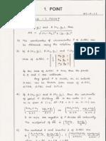 Mathematics 1 - Formulae