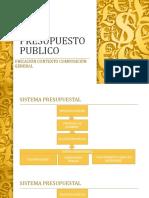 PRESUPUESTO PÚBLICO Y SISTEMA PRESUPUESTAL