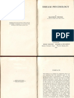 Nicoll, Maurice - Dream Psychology