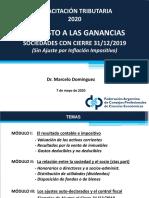 Capacitación FACPCE del 7-5-2020 - IG Personas Jurídicas Cierre 31-12-2019 - Marcelo Dominguez.pdf