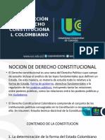 Introducción al Derecho Constitucional Colombiano