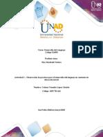Unidad 3 - Actividad 3 - Observar prácticas para desarrollo del lenguaje - contextos de educación inicial - Catiana lopez- grupo 15