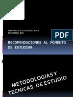 DIAPOSITIVAS DE TECNICAS DE ESTUDIO