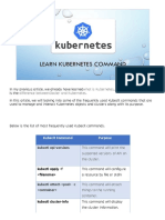 Kubernetes - Kubectl Commands - QA Automation