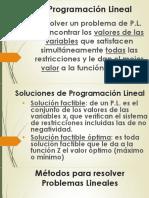 7 - PROG.LINEAL - MÉTODO GRÁFICO