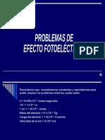 Problemas Efecto Fotoeléctrico