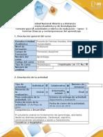 TAREA 2-Guía de actividades y rubrica de evaluación – tarea - 2  Paradigmas del aprendizaje