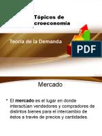 teoria de la demanda presentacion ULA