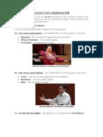 LA VOZ Y SU CLASIFICACIÓN ACT.N°4 GIOMVWW
