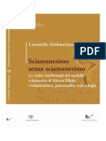Ambasciano - Sciamanesimo Senza Sciamanesimo (parziale)