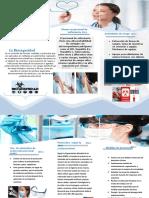 folleto de enfermeria