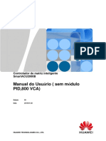 Manual do usu¿ório do controlador de matriz inteligente do SmartACU2000B (sem m¿«dulos de PID, 800 VCA)