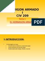 Tema 1 - CIV 209 - Hº Aº