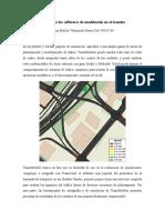Alcance de los softwares de modelación en el transito