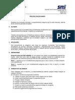 1.13 Proceso Disciplinario