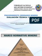 3-PROCEDIMIENTOS PARA SOLICITUD DE CONCESIONES MINERAS