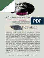 João Cabral de Melo Neto_ Ética, Estética e Poética