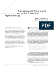 Review of Trans Personal Theory