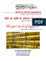Zakat on Gold and Silver Jewelry - Dr. Mohammad Najeeb Qasmi (English, Hindi, Urdu)