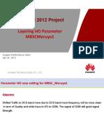 Performance Report for Layering HO Parameter Adjustment - Meruya01_20120424.pptx