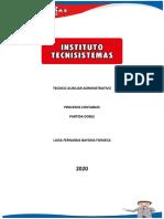PARTIDA DOBLE-PROCESOS CONTABLES