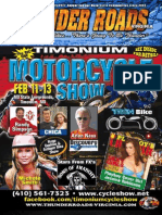 Thunder Roads Virginia Magazine - January 2011
