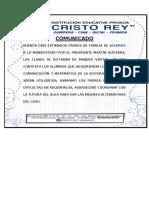 COMUNICADO DE LOS LIBROS-para correguir