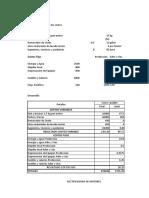 Caso 01 Costos Fijos y Variables