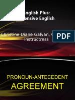 pronoun-antecedent agreement.ppt