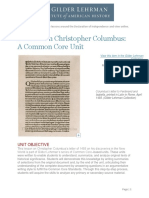 tlth lesson plan - christopher columbus