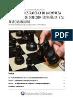 7. La responsabilidad de las decisones estratégicas