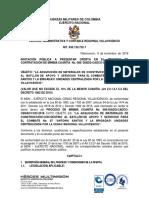 INVITACION PUBLICA MC-086