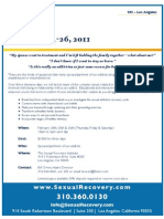 Sexual Recovery Institute Partner Workshop - February 24-26, 2011