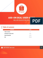 Add-on Deal User Guide