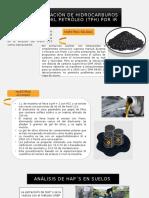 ANÁLISIS DE COMPUESTOS DE PETRÓLEO TPH 2.1.pptx