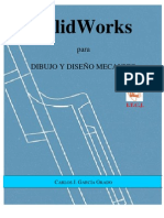 SolidWorks Para Dibujo Y Diseño Mecánico