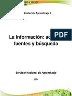 La Información busqueda y acceso