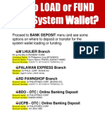 09 HOW & WHERE to LOAD or FUND AGENT SYSTEM WALLET